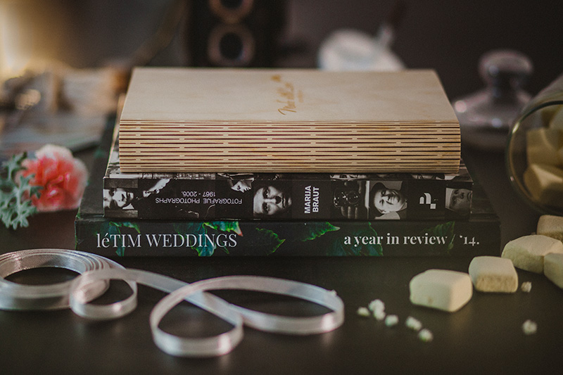 letim weddings; wedding packaging; book box with fine art prints