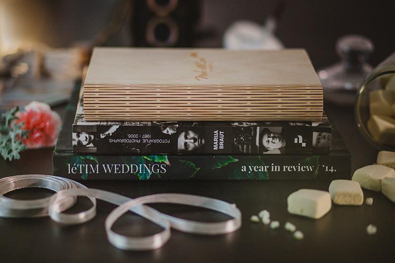 letim weddings; wedding packaging; book box with fine art prints