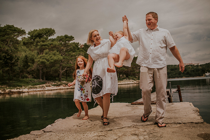 rab family photographer, candid family photos, family portrait